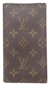 Louis Vuitton RARE* pocket agenda monogram cover diary day planner