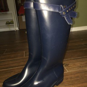 Nine West Navy blue Corrado Women's Rain Boots Boots