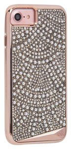 Case-Mate Iphone 7 Case - Rose Gold Brilliance Lace