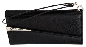 Case-Mate iPhone 7 - Black Leather Folio Wristlet