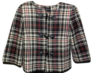 Dialogue Wool Crop Top Woven Limited Edition Pea Coat