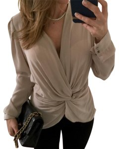 Chelsea Flower Top taupe/blush