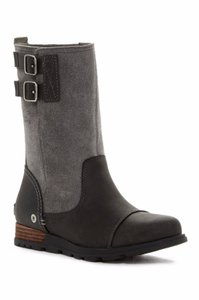 Sorel Major Pull On Suedeleather Grillquarry Women Gray Boots