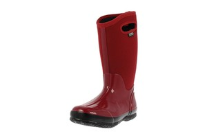 Bogs Womens Classic Tall Rain Red Boots