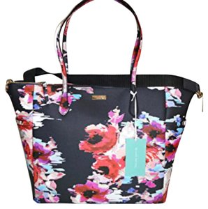 Kate Spade Black Floral Diaper Bag