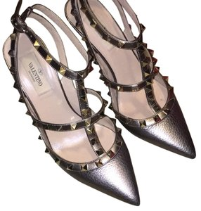 Valentino Bronze Pumps