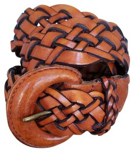 Turkish Collection Braided Leather Belt