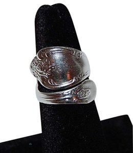 Oneida Oneida Vanessa Spoon Ring Sterling Silver Adjustable 5 6 7 8