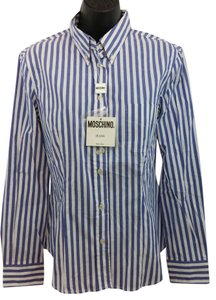 Moschino Cotton Blouse Button Down Shirt