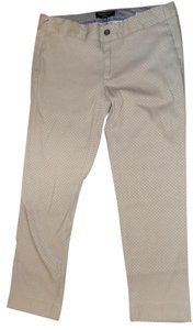 Banana Republic Fitted Classic Textured Khaki/Chino Pants Taupe