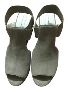 BCBGeneration Taupe Mules