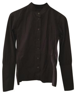 Saint Laurent Button Down Shirt Black