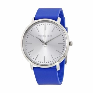Michael Kors Michael Kors Women's 'Jaryn' Blue Silicone Watch