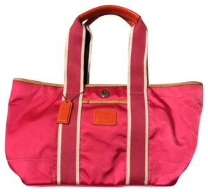 Coach Tote in Hot Pink