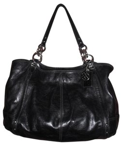 Coach Alexandra 16244 Large Leather Tote in Black