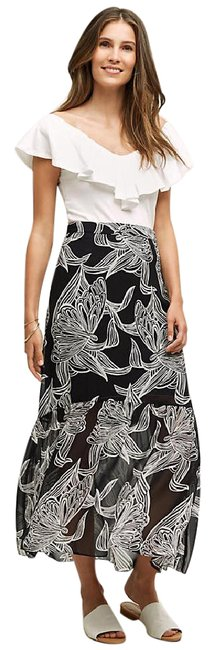 Item - Black & White Hd In Paris Wild Prairie M Skirt Size 8 (M, 29, 30)