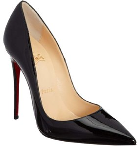 Christian Louboutin So Kate Patent So Kate Black Pumps