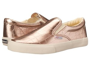 Superga Slip Ons Sneakers Rose Gold Athletic