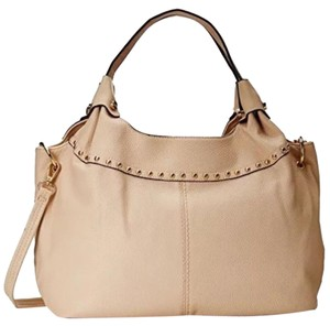 MGC Faux Leather Large Light Color Cross Body Bag