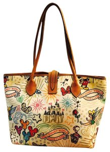 Dooney & Bourke Limited & Tote in White/Multi Color