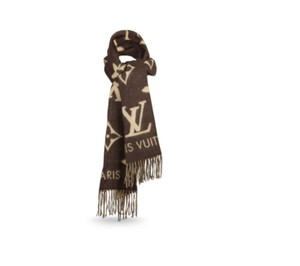 Louis Vuitton LLOUIS VUITTON CASHMERE SCARF