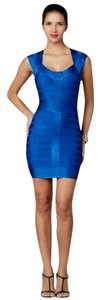 BCBGMAXAZRIA Bandage Bodycon Cocktail Dress