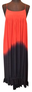 Red and Blue Maxi Dress by Geren Ford Ombre Maxi