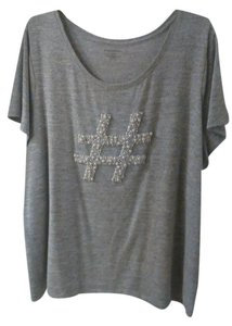 Lane Bryant T Shirt Grey