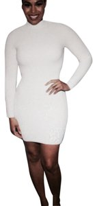 Torn by Ronny Kobo short dress Milk White on Tradesy