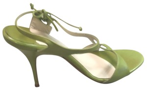Alexandra Neel Green Sandals