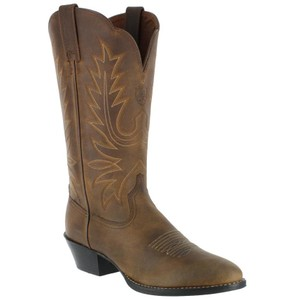 Ariat Cowboy Wide Cowgirl Leather Western Distressed Brown Boots