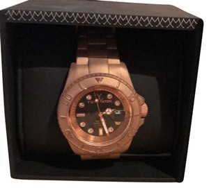 ToyWatch ToyWatch Rose Gold Watch- TW Glow