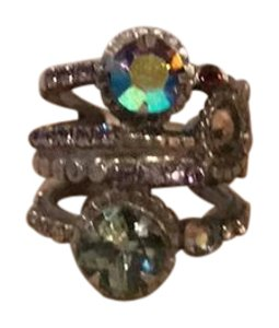 Sorrelli Sorrelli multi stone adjustable ring