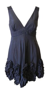 BCBGMAXAZRIA Bcbg Cocktail Formal Little Ruffle Dress