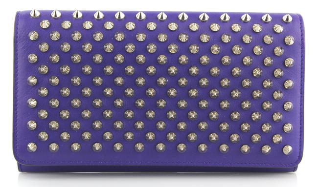 Item - Purple Spiked Panettone Wallet