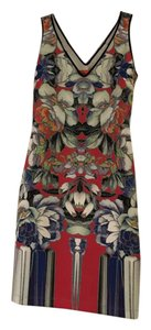 Clover Canyon Mini Floral Bodycon Dress
