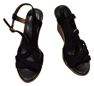 Banana Republic black Wedges