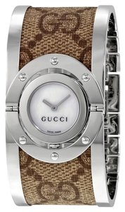 Gucci Twirl Cuff Bracelet Watch - Women's