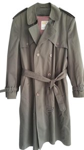 London Towne Trench Long Trench Coat