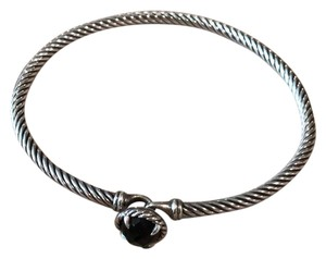 David Yurman David Yurman 3mm Black Onyx Chatelaine bracelet