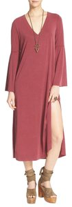 Free People short dress Scalet New Romantics Printed Oversized Relaxed on Tradesy