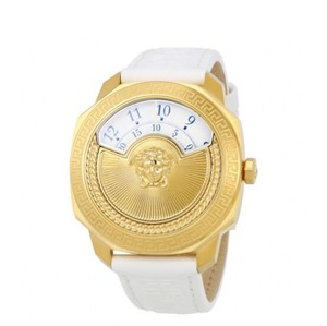 Versace VERSACE Dylos White Rotating Disc Dial Ladies Watch