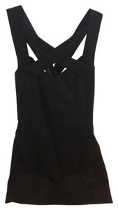 A|X Armani Exchange Short Crisscross Strap Dress