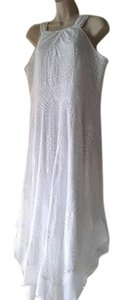 White Maxi Dress by Chico's Maxi Lace