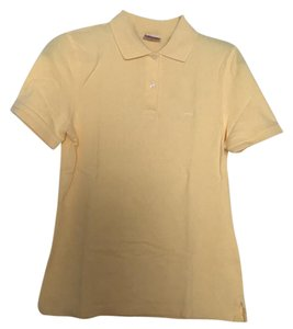 Brooks Brothers Top Pastel Yellow