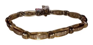 Other 14KT Yellow and White Gold 5ctw Diamond Bracelet - Beautiful!