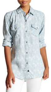Rails Button Down Tencel Button Down Shirt Chambray