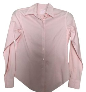 Brooks Brothers Button Down Shirt Pastel Pink