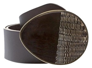 Chico's Chico's Cameron Leather Belt -Brown