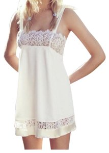 For Love & Lemons short dress Cream on Tradesy